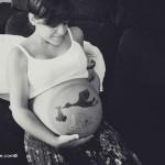 Sesión embarazada: Lucía
