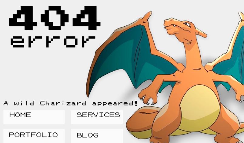 Error 404 charizard