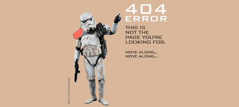 Error 404 star wars