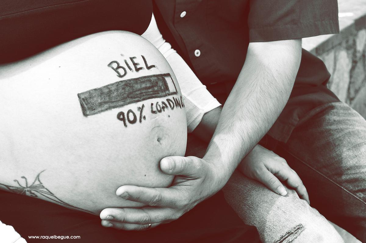 Pintar barriga embarazo