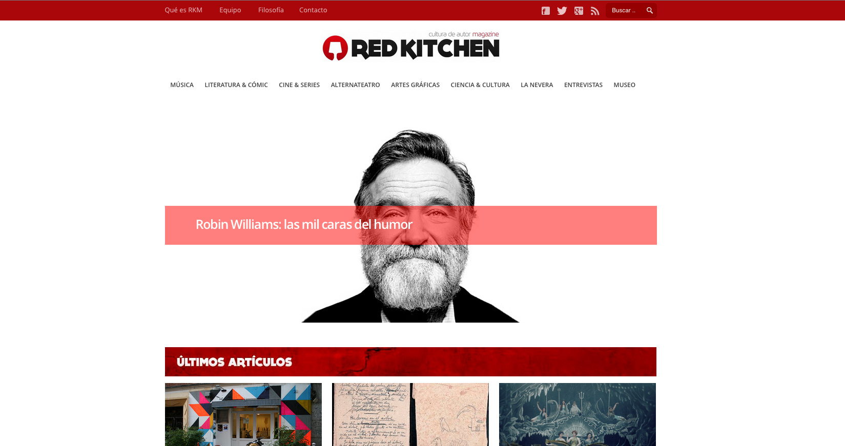 Red Kitchen Magazine